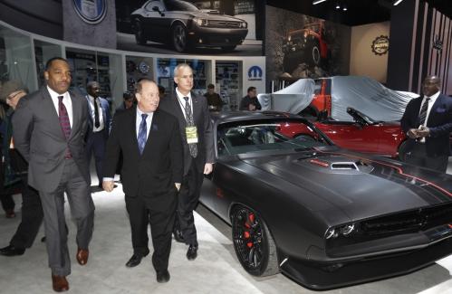 Detroit Auto Show Offers Glimpse of 2017