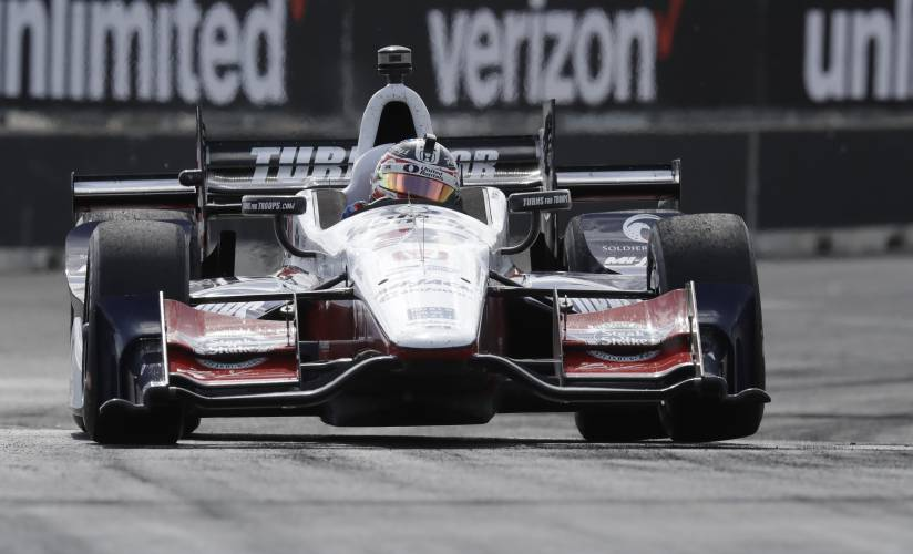 Valley News Auto Racing Roundup Johnson Extends Dover