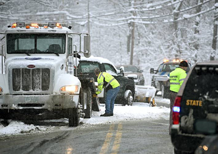 Valley News - Storm Leaves Treacherous Roadways in Its Wake