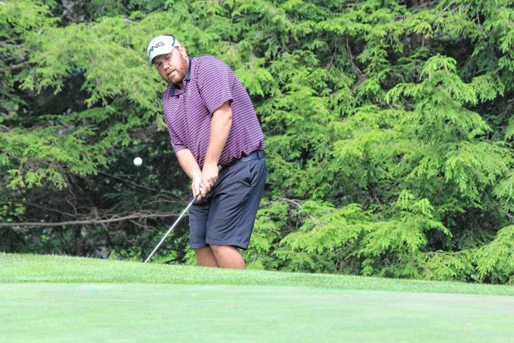 Valley News - Lebanon's Pelletier taking his cut at the