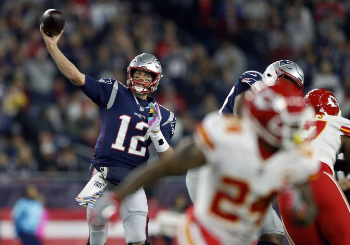 ce84b2078 Valley News - Analysis: Too Many Points in NFL? Hardly