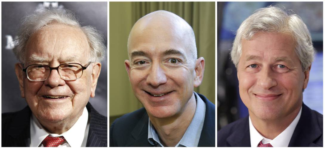 Valley News Amazon Buffett Jpmorgan Take On Health Care