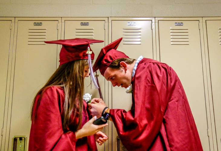 Valley News - Jubilant Hanover Grads March Into Futures