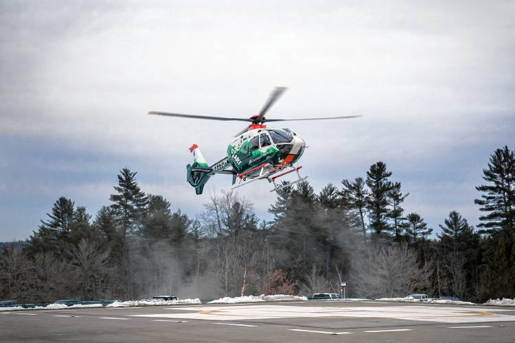 Valley News - Vt  Hospital Grows Use of Helicopters