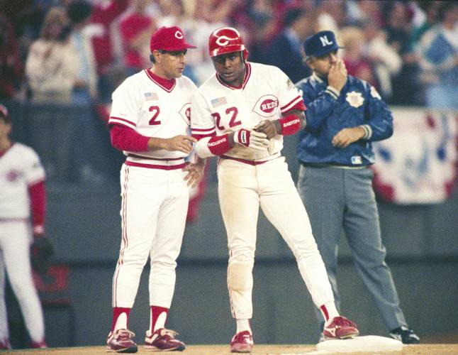 wholesale dealer cfbb1 dee1b Valley News - 150 years, almost as many uniforms: Reds plan ...
