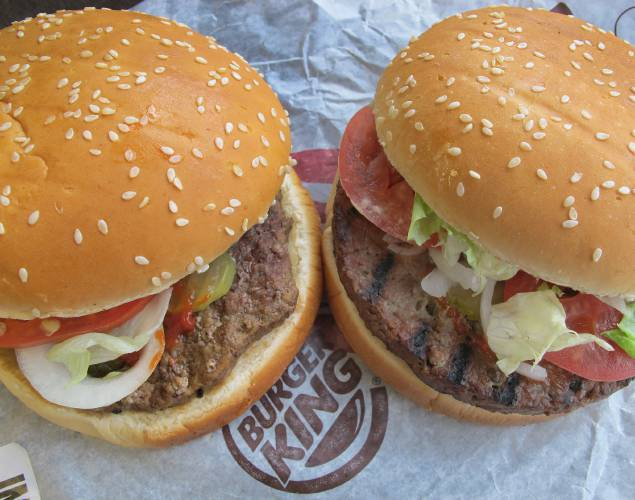 Valley News - Burger King's Impossible Whopper is going national