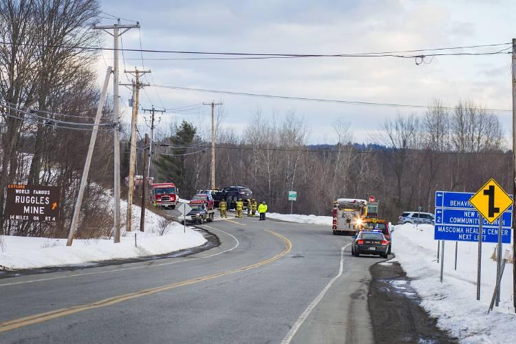Valley News - Multiple People Injured in Canaan Crash