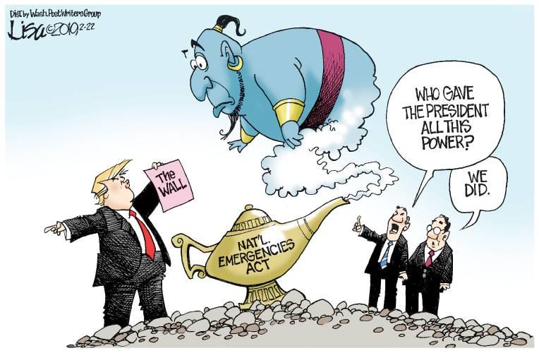 Valley News Editorial Cartoon Feb 23