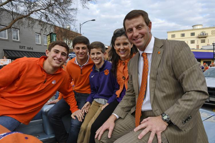 Valley News - Clemson's Swinney gets paid