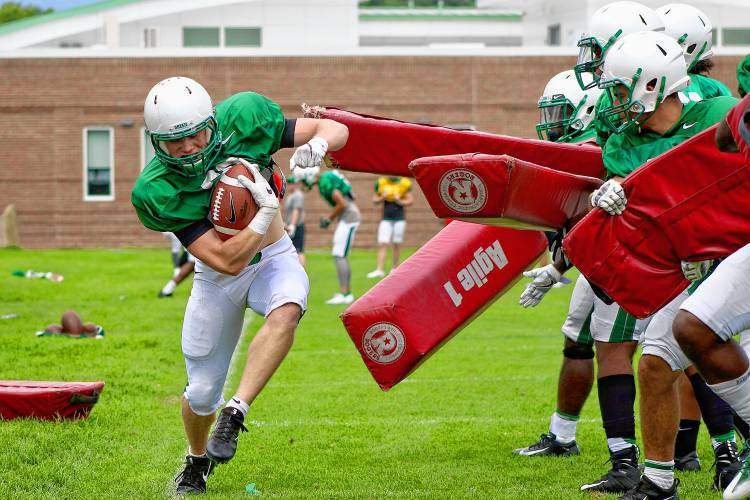 Valley News Dartmouth Football Notes No Tackling Allowed
