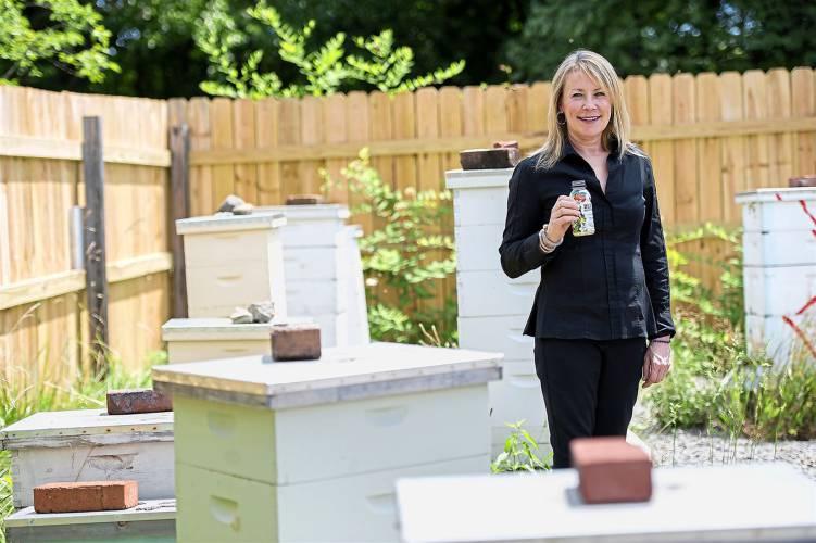 Valley News - Entrepreneur Makes, Markets Honey-Flavored Water