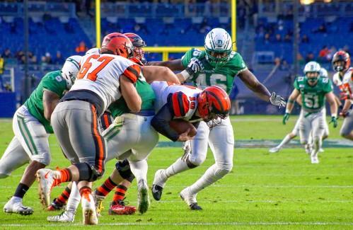 Defensive line plays big part of Big Green's success this season - Valley News