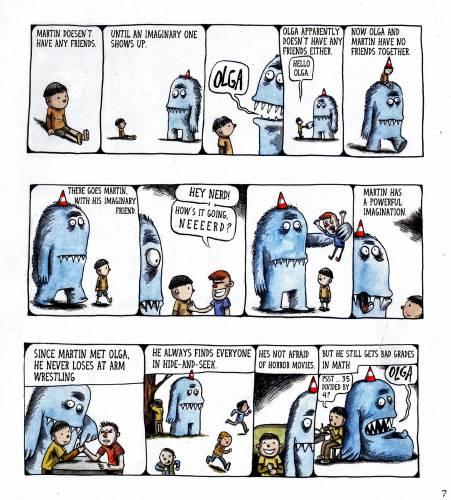 Valley News - Book Notes: Beloved in Argentina, Cartoon
