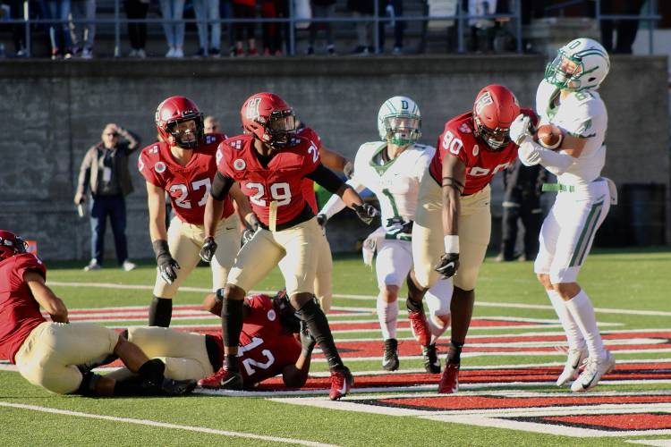 Valley News - Dartmouth football wins on last play against ...