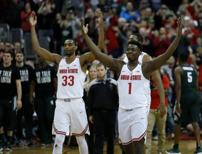 Valley News College Basketball Ohio State Stuns No 1