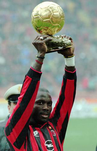 Sample Of Research Essay Paper   File Photo Ac Milans Liberianborn Striker George Weah Raises The  Golden Ball Trophy Before The Start Of An Italian League A Soccer Match  Between  Computer Science Essays also Essay English Spm Valley News  Essay Soccer Fame Helped Weah Become African Leader Science And Society Essay