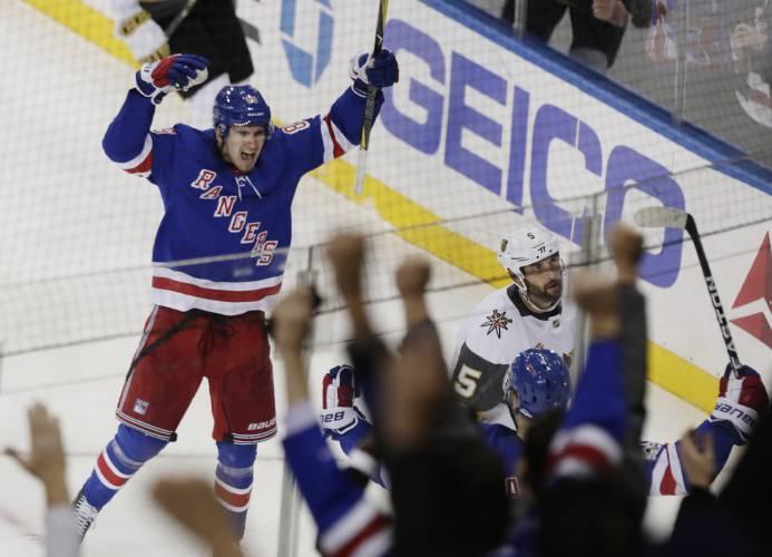 buy popular 210f6 a3b1c Valley News - NHL Roundup: Rangers Stop Knights