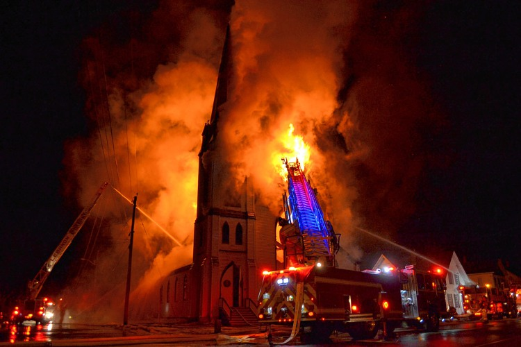 Valley News Lebanon Man Charged With Arson In Church Fire