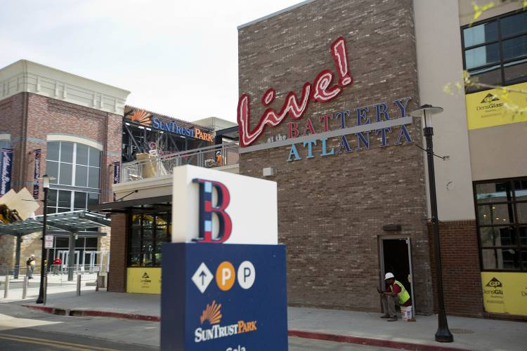 sale retailer f7180 24ba8 Valley News - Braves' New Digs: A Mall, a Restaurant — and a ...