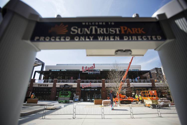 sale retailer d9358 52d31 Valley News - Braves' New Digs: A Mall, a Restaurant — and a ...