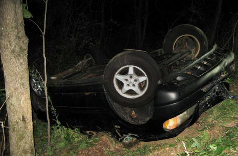 Valley News - Woman Cited Following Crash on Old Pine Tree
