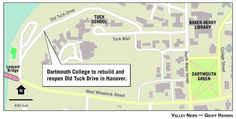 Valley News - Dartmouth Looks To Rebuild Road on