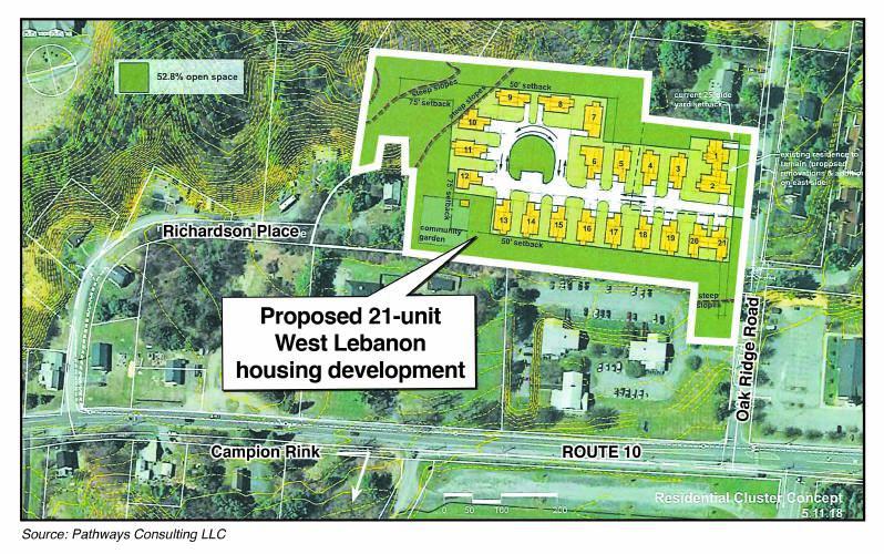Valley News - West Lebanon Housing Proposal Raises Concern