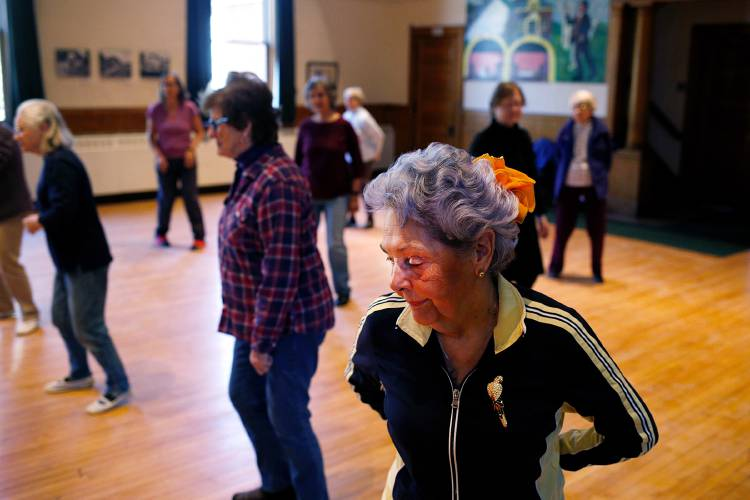 Valley News - Sunday Seniors: Hanover line dancing class offers a challenge  to get in the groove