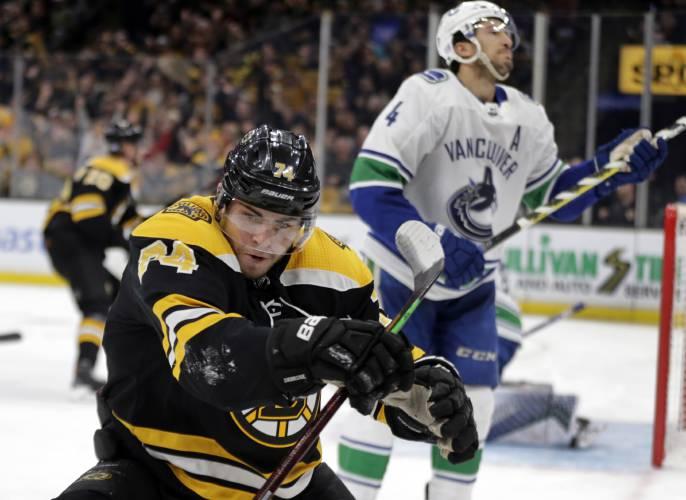 Valley News Nhl Roundup Canucks Ko Bruins
