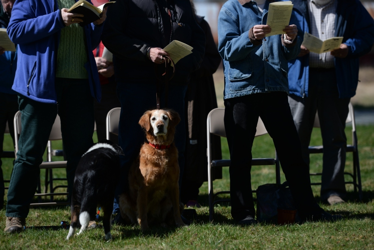 Valley News - Blessing of the Animals in Wells River
