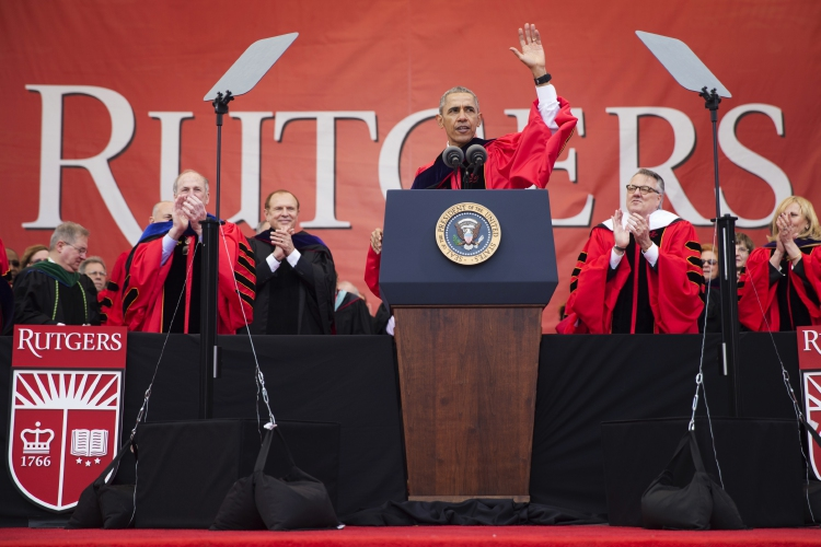 Valley News Obama Brings Politics To Rutgers
