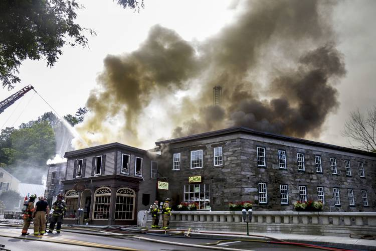 Valley News Authorities Say Fire In Downtown Woodstock Last Month