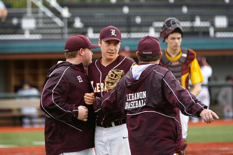 Valley News - One hit is all Marauders need to defeat Lebanon