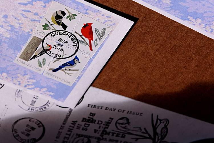 Valley News - Postal Enthusiasts Flock to Vermont