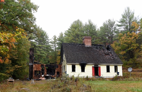 Cause unknown in Grafton house fire