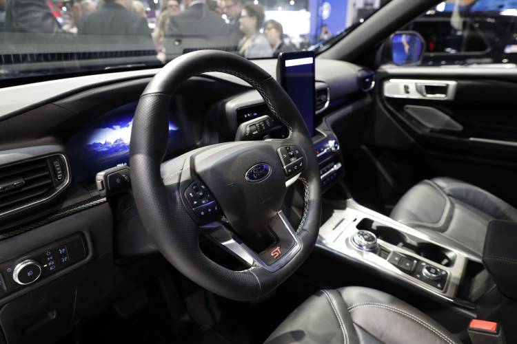 7 2019 A Ford Explorer Is Displayed During The Media Preview Of Chicago Auto Show At Mccormick Place In Says It Has Launched An