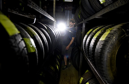 Valley News - Tire Changes in West Lebanon