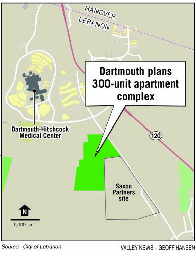 Valley News - Dartmouth seeks developer for 300-unit apartment ... on