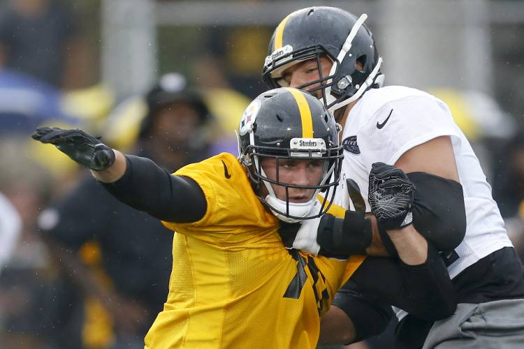122cb57c832 Commentary  Steelers Lineman Is From the Trenches — Literally. Pittsburgh  Steelers tackle Alejandro Villanueva ...