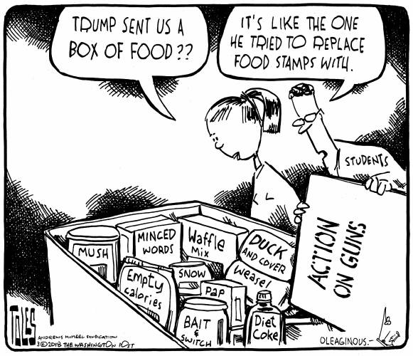 Valley News - Editorial Cartoon: March 7
