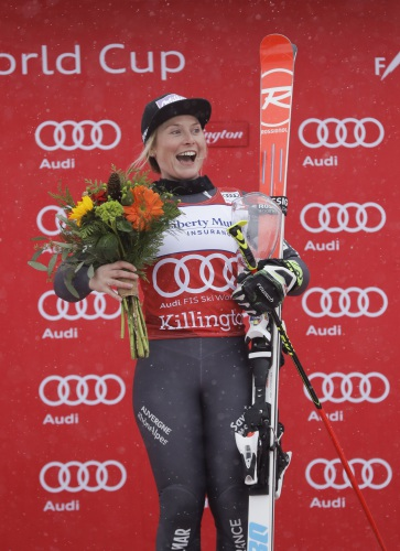 Valley News France S Tessa Worley Wins Giant Slalom In Vermont