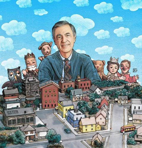 Valley News Column We Can Make The World A Little More Like Mister Rogers Neighborhood