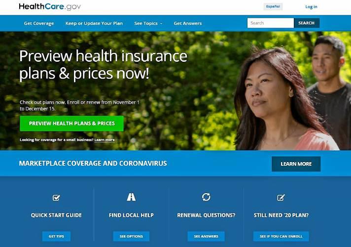 Valley News Aca Health Insurance Enrollment Period Starts Nov 1