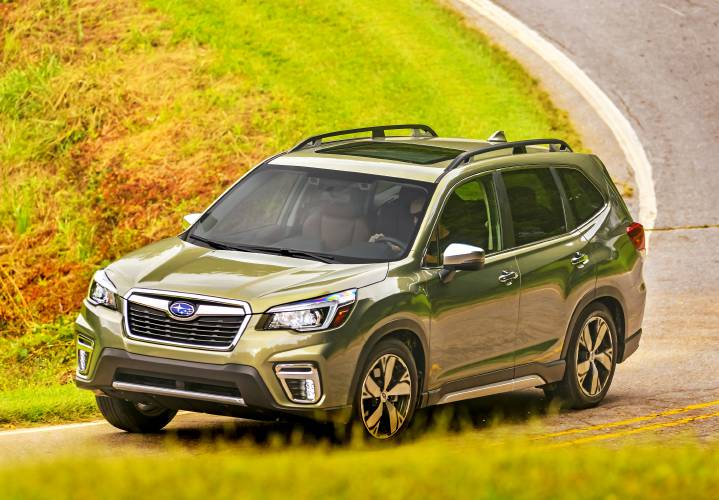 Valley News - More Than a Foul Weather Friend, the 2019 Subaru