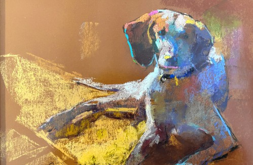 Out & About: Pup art — Lebanon exhibit memorializes gallery dog, others