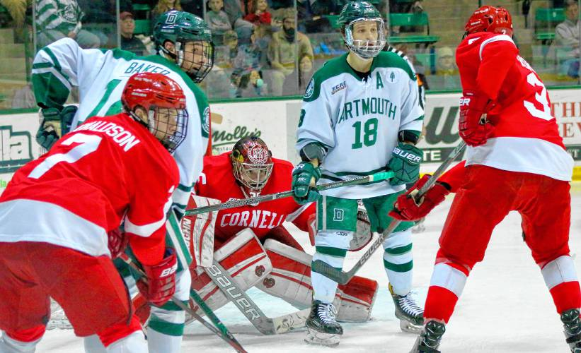 finest selection 66477 099f0 Valley News - Disciplined Cornell Puts Halt to Dartmouth's ...
