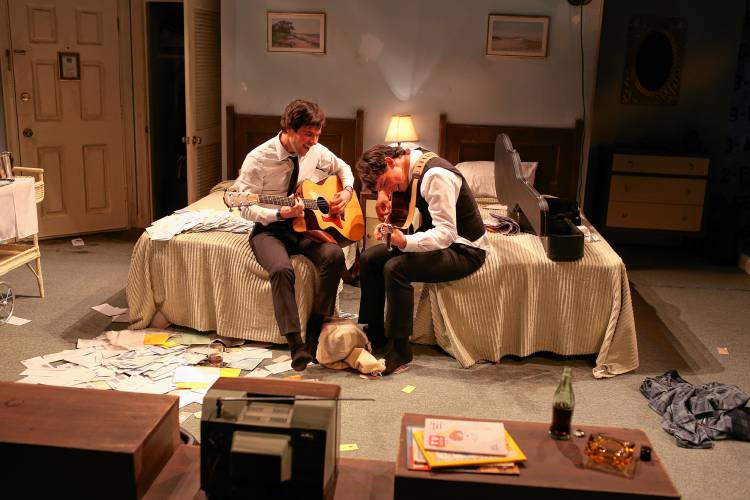 Theater Review The Beatles Youthful Genius At Northern Stage