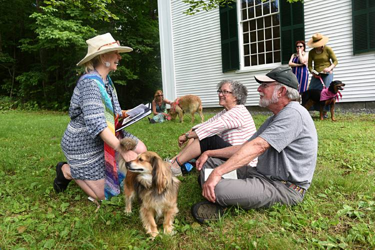 Valley News - A Summer Pet Blessing in West Fairlee