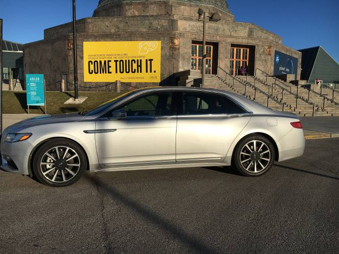 Valley News Auto Review 2017 Lincoln Continental