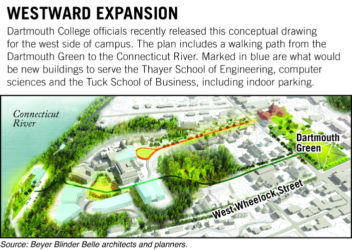 Valley News - Dartmouth Announces Plans to Expand Its Campus